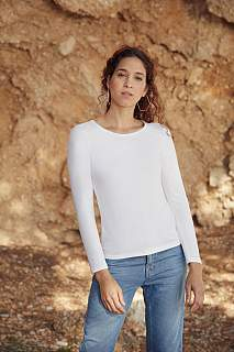 Tricou T-shirt Lady-Fit Valueweight Long Sleeve