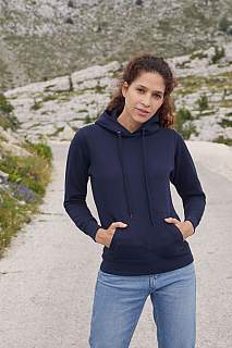Sweater Lady Fit Hooded Sweat