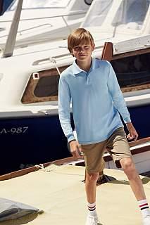 Tricou Kids 65/35 Long sleeve Polo