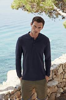 Tricou Premium Long Sleeve Polo