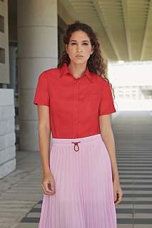 Camasa Lady Fit Short Sleeve Poplin Shirt