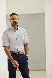 Camasa Short Sleeve Oxford Shirt