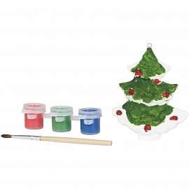 Paint a christmas tree