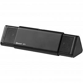 Sideswipe albastrutooth (r) and NFC speaker