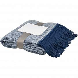 Haven herringbone throw blanket