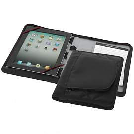 iPad case with A5 notebook