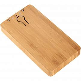 PB-5000 Bamboo Powerbank