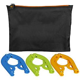 Dover 3-piece foldable hanger set