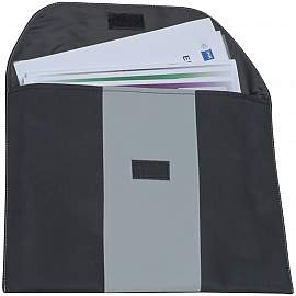 Document folder made if microfibre