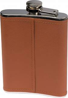 Hip flask with PU finish