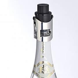 Vacuum champagne stopper