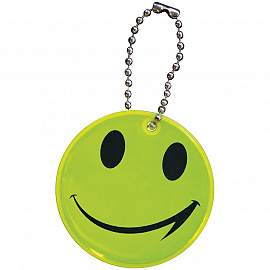 smile pendant with bead chain