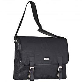 Ferraghini laptop bag with a flap