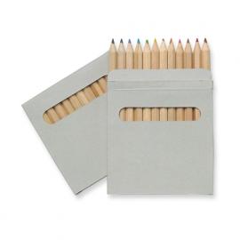 Set de 12 creioane colorate