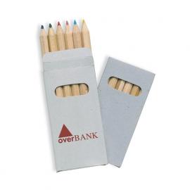 6 creioane colorate