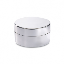 Balsam buze In cutie argintie