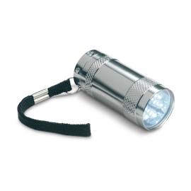 Mini-lanterna aluminiu+lanyard