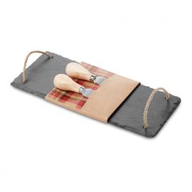 Tocator branzeturi cu 2 cutite