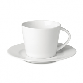 Cappuccino ceasca si farfurie