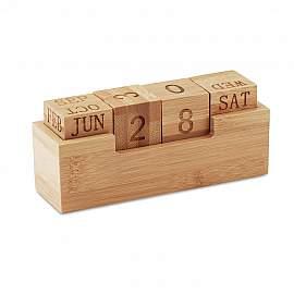 Calendar din bambus