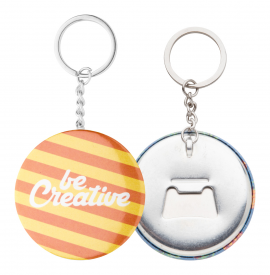 Desfacator sticle insigna, KeyBadge Bottle