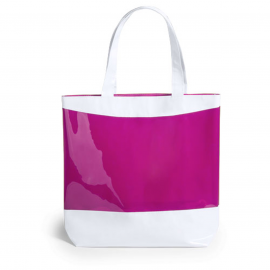 Rastek, Shopping bag with coloured, translucent window. Material: PVC.