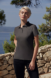 Tricou Lady Fit Premium Polo