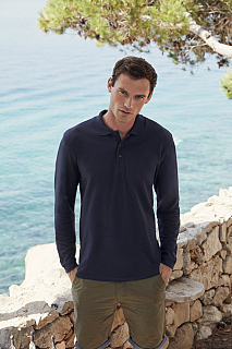 Tricou Premium Long Sleeve Polo