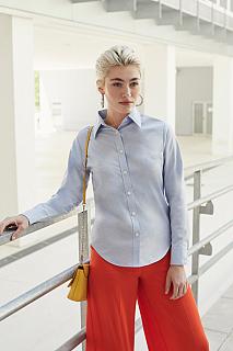 Camasa Lady Fit Long Sleeve Oxford Shirt