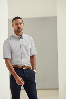 Camasa Short Sleeve Oxford Shirt