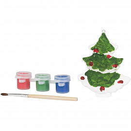 Paint a christmas tree