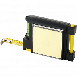Dunk 2M measuring tape with level