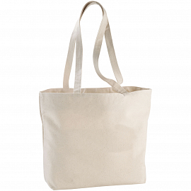 Ningbo 340 g/m� zippered cotton tote bag