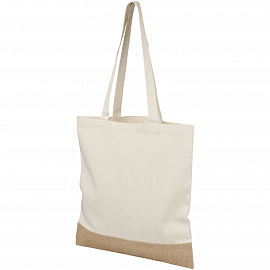 Delhi cotton jute tote bag