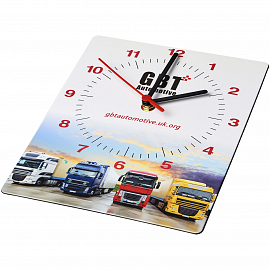Brite-Clock� rectangular wall clock