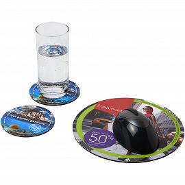 Q-Mat� mouse mat and coaster set combo 5