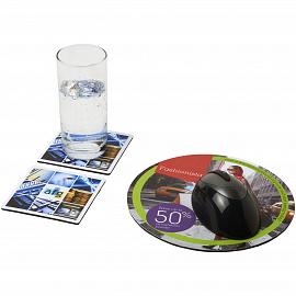 Q-Mat� mouse mat and coaster set combo 6