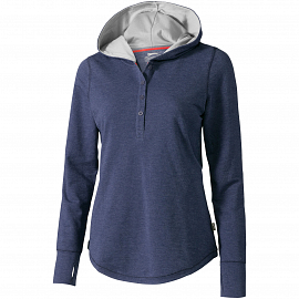 Reflex ladies knit hoodie