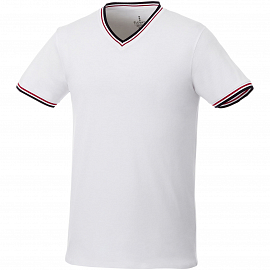 Elbert short sleeve men's pique t-shirt