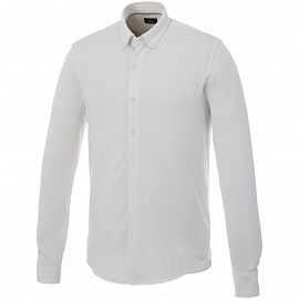 Bigelow long sleeve men's pique shirt