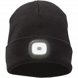 Mighty LED knit beanie, Black
