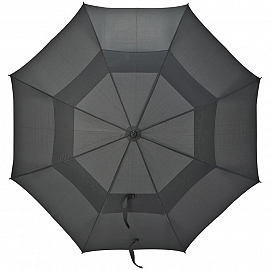 Golf umbrella with windscreen