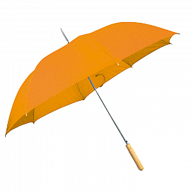 Automatic walking-stick umbrella