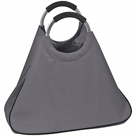 Shopping bag with aluminium handles