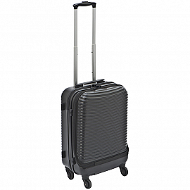 Trolley with hardcover front