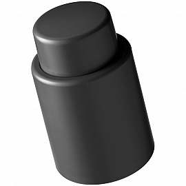 Vacuum wine stopper made of plastic