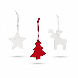 ZURS. Set of 3 Christmas decorations