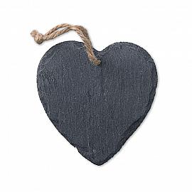 Decoratiune ardezie inima