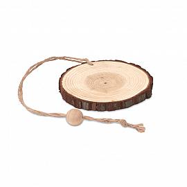 Decoratiune lemn rotunda