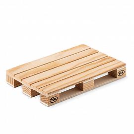 Coaster lemn in forma de palet